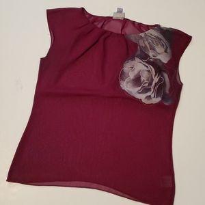 Worthington Floral Blouse